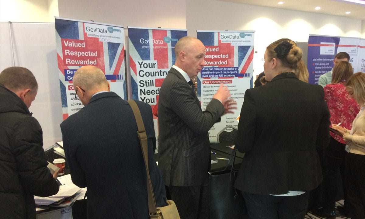CPT Armed Forces Recruitment Stand